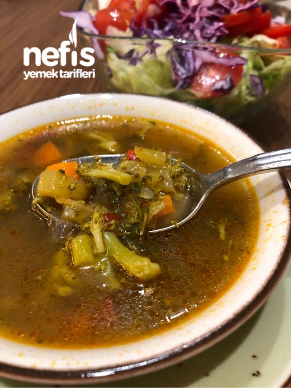 Nefis Diyet Sebze Çorbası