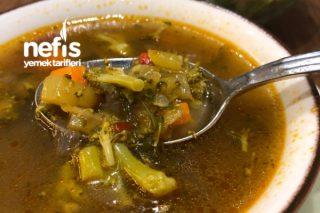 Nefis Diyet Sebze Çorbası Tarifi