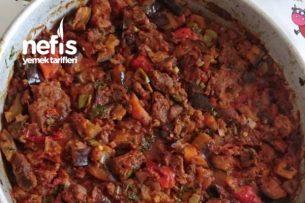 Patlıcanlı Et Tava Tarifi