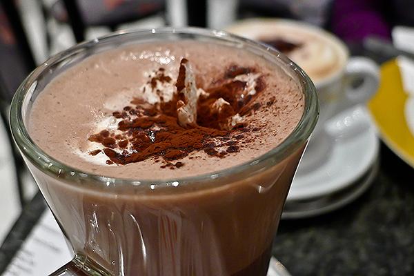 soğuk kahve yapımı