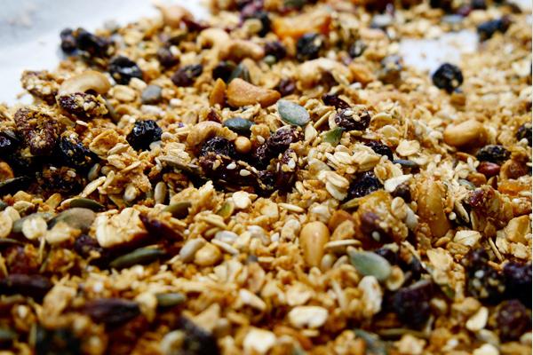 granola müsli