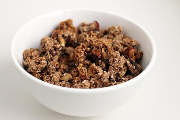 granola kahvaltı