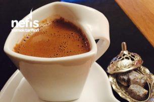 Nutellalı Türk Kahvesi ( Bol Köpüklü) Tarifi