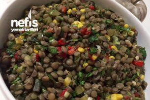 Yeşil Mercimek Salatası (Vitamin Deposu) Tarifi