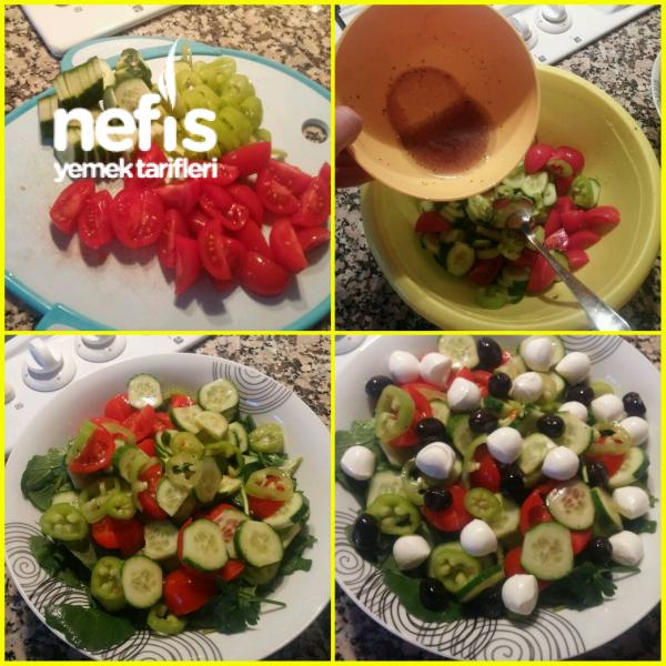 Akdeniz Salatası