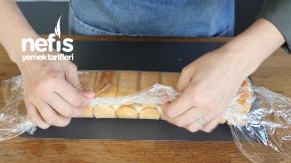 Kedidili Bisküviyle Rulo Pasta (videolu)