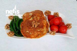 Peynirli Yumuşacık Pankek Tarifi