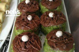 Porsiyonluk Mini Yeşil Pasta Tarifi