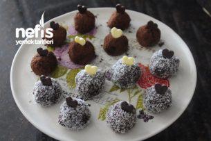 Bal Kabaklı Çikolatalı Truff Tarifi