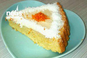 Portakallı Kremalı Tart Kek Tarifi