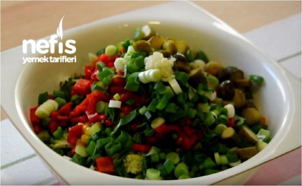 Brokoli Salatası Yapılışı