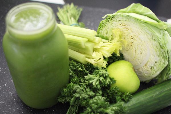 yeşil sebzeler