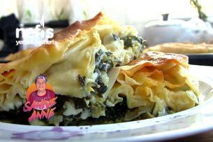 Ispanaklı Su Böreği Tarifi (videolu)