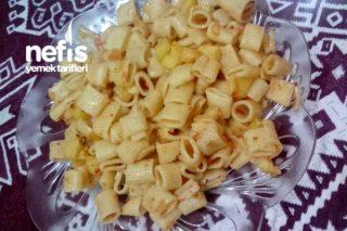Patates Ve Domatesli Makarna Tarifi