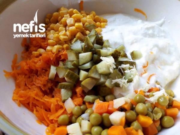 Yoğurtlu Havuç Salatası(10 Dakikada Muhteşem Lezzet)