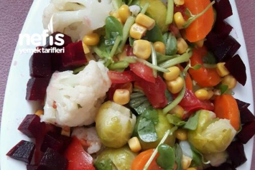 Brüksel Lahanası Salatası Tarifi Videosu 53