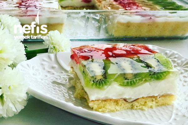Meyveli Hafif Pasta Tarifi
