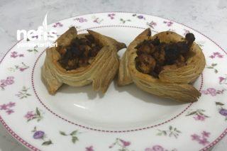 Milföy Yatagında Mantarlı Tavuk Sote Tarifi