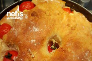 Sarımsaklı Domatesli Ekmek Tarifi