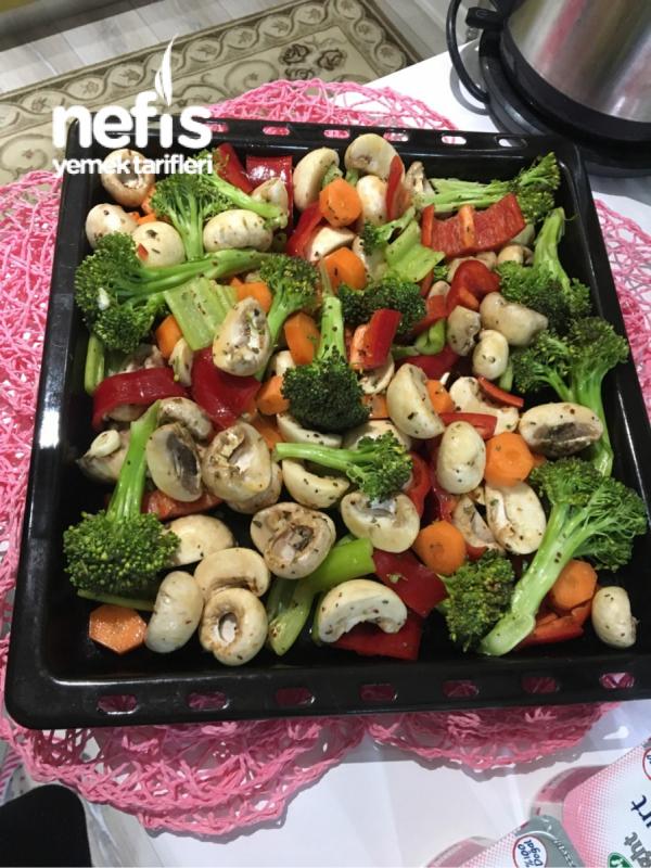 En Sağlıklı Lezzet : Fırında Sebze