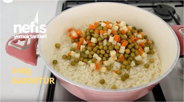 Garnitürlü Pirinç Pilavı Tarifi