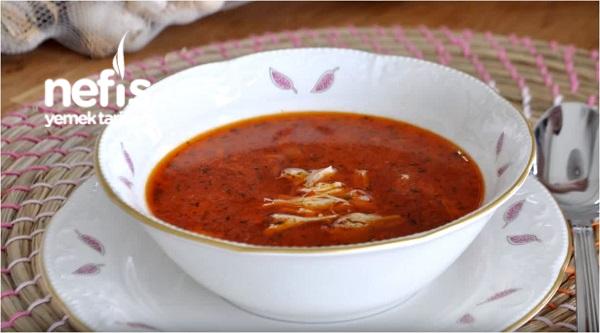 Paça Tadında Tavuk Çorbası (Adana Usulü)