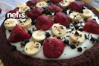 Pudingli Meyveli Tart Pasta Tarifi