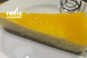 Portakallı Pişmeyen Pasta Tarifi