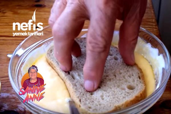 Yoğurt Soslu Kahvaltılık Ekmek Tarifi (videolu)