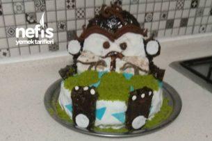 Tazmanya Canavarı Oğluşumun Doğum Günü Pastası Tarifi