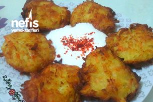 15 Dakikada Çok Lezzetli Patates Köftesi (Şahane Lezzet) Tarifi