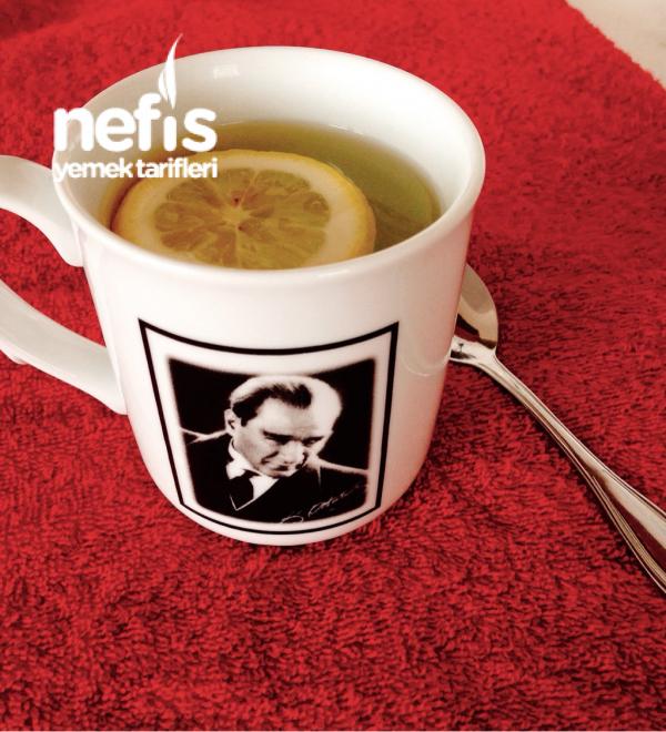 Faydaları İle Taze Limon Çayı