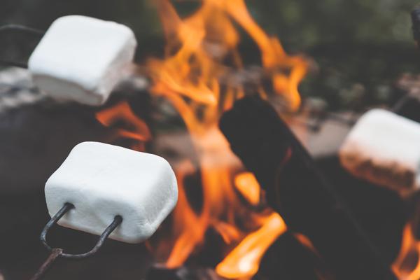 marshmallow pişirmek
