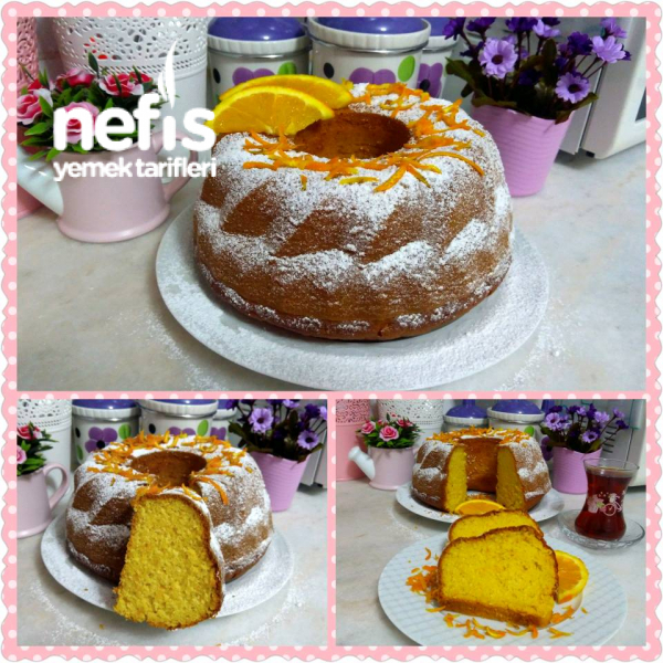 Mis Gibi Sodalı Portakallı Kekim ( püf noktalarıyla)