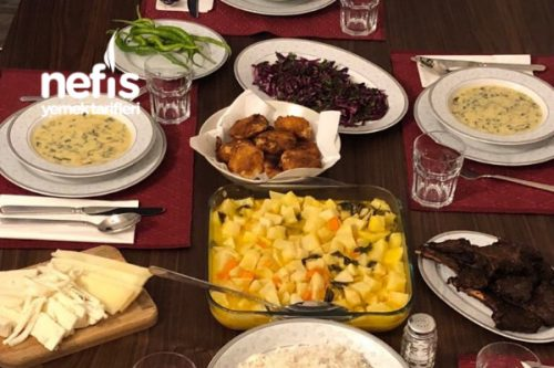 Misafirlere Akşam Yemeği Tarifi