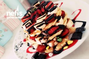 Tost Makinesinde Waffle Tarifī Tarifi