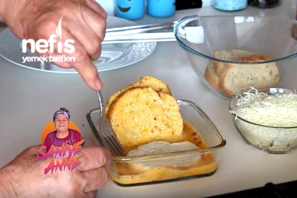 Yumurtalı Kaşarlı Ekmek (videolu)