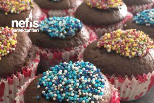 Cocostarlı Renkli Muffinler Tarifi