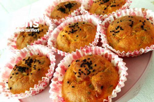 Peynirli Muffin Tarifi Videosu
