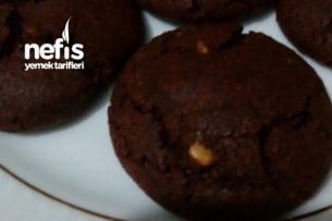 Toz Çikolata Sos İle Kurabiye, Bisküvi (Tatlı Krizi Kurabiyesi) Tarifi