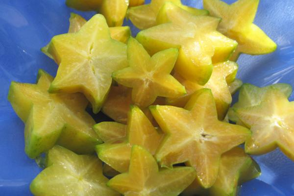 yıldız şeklinde meyve