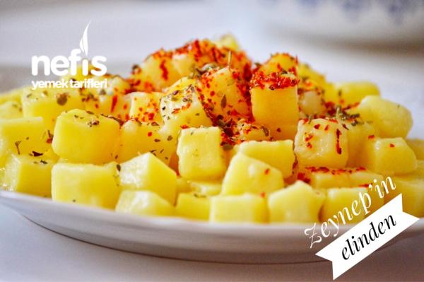 Kahvaltılık Küp Patatesler