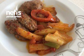 Fırında Köfte Patates (Kolay Tarif) Tarifi
