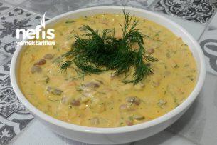 Barbunya Salatası (Kabaklı) Muhteşem Lezzet Tarifi