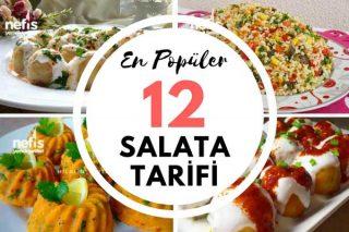 Mart 2018 En Fazla İlgi Gören 12 Salata Tarifi