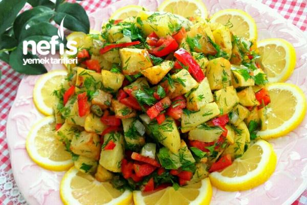 Patates Salatası (Enfes) Tarifi