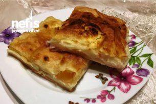 Kaymaklı Ve Peynirli Tepsi Böreği( Videolu) Tarifi