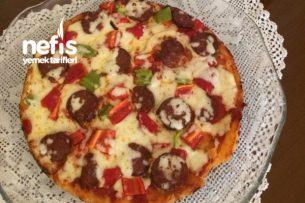 Pizza (Tencere Tava Ev Yapımı Pizza) Tarifi