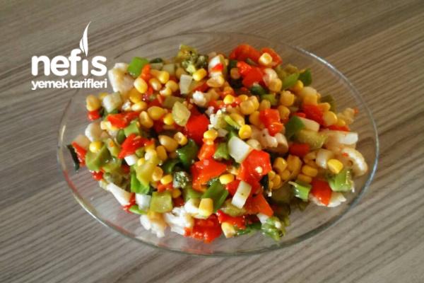 Brokolili Karnabaharlı Salata Tarifi