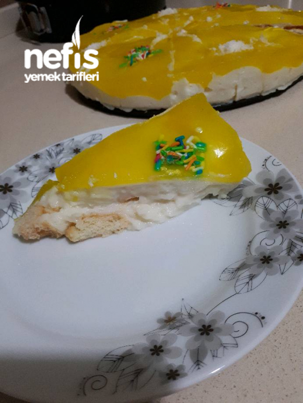 Limon Soslu Kedidili Pasta
